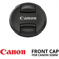 Lens Cap Canon 52 mm Ultrasonic