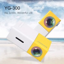 Super Mini LED Projector YG300 YG-300 Proyektor Multimedia Full HD