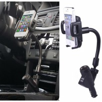 Car Holder Stand with USB Charger