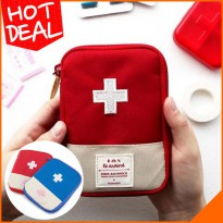 Tas Travel P3K / Traveling First Aid Medicine Pouch