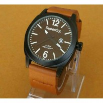 GROSIR JAM TANGAN SUPERDRY SD01 LIGHT BROWN