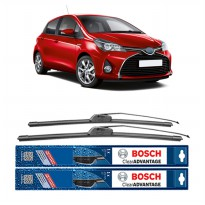 Bosch Sepasang Wiper Mobil Toyota Yaris Frameless New Clear Advantage 24' & 14' - 2Buah/Set