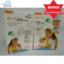Little Giant Emily Manual Breast Pump / Pompa Asi Manual