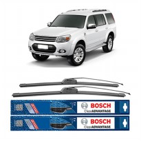 Bosch Sepasang Wiper Mobil Ford Everest Frameless New Clear Advantage 18' & 18' - 2Buah/Set