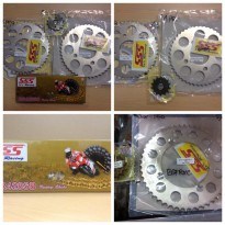 Hot Deal's Gear Set SSS Yamaha R15 // gir set r15 , r 15