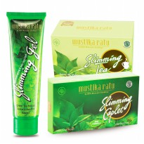 Mustika Ratu Slimming Series (Slimming Tea Sirsak, Slimming Kaplet dan Slimming Gel)
