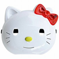 Mainan Anak Topeng Nyala Lampu LED Hello Kitty Helo Kity Kid Toys Mask