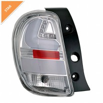 NISSAN MARCH TAIL LIGHT LED BAR CHROME