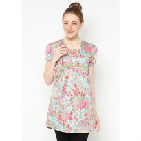 Mobile Power Ladies Blouse Printing - Multi Color H8111