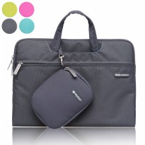 Original GEARMAX PREMIUM GM3910 15.4 Inch Waterproof Canvas Oxford Laptop Sleeve Case Bag