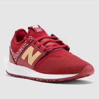 Sepatu Olahraga Senam Gym Fitness New Balance 247 V1 Women's Sneakers Shoes- Maroon WRL247HC