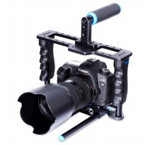 Yelangu Rig Stabilizer Kamera DSLR 15mm Rod - Black