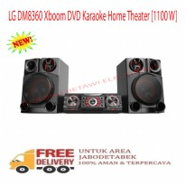 LG DM8360 Xboom DVD Karaoke Home Theater 1100 W-Promo