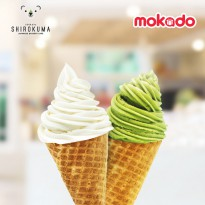 SHIROKUMA - Classic Soft Cream (3 Rasa : Original, Matcha, Twist)