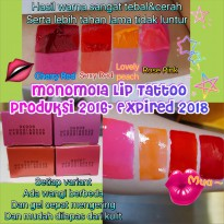 Promo MONOMOLA LIP TATTOO - MONOMOLA WOW LONG LASTING LIP COLOR