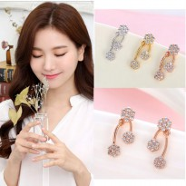 RAT7647 - Aksesoris Anting Elegant Zircon