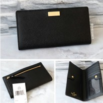 Kate Spade Stacy Newbury Lane Wallet (Black)