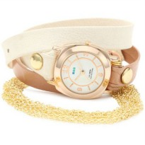 [poledit] La Mer Collections Women`s LMMULTICW2000 Chain Wrap Collection Joshua Tree Watch/2859060