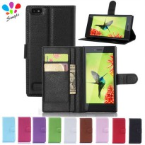 [globalbuy] For Blackberry Leap Case Luxury Wallet PU Leather Case Cover For Blackberry Le/2766797