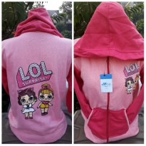 Jaket Anak SD Motif LOL Surprise