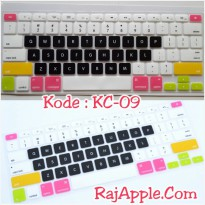 Silicone Keyboard Protector MIXED COLOR KC-09 for Macbook 13' & 15'