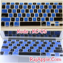 Silicone Keyboard Protector MIXED COLOR KC-05 for Macbook 13' & 15'
