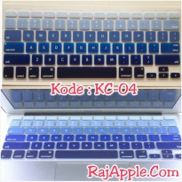 Silicone Keyboard Protector MIXED COLOR KC-04 for Macbook 13' & 15'