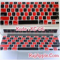 Silicone Keyboard Protector MIXED COLOR KC-06 for Macbook 13' & 15'