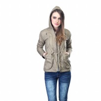 Jacket wanita Inficlo SFC 747 Cream