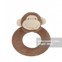 Angel Dear Ring Rattle - Monkey