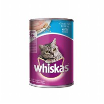 Whiskas Ocean Fish Makanan Kucing 400 gram Premium Cat Food Wet Food