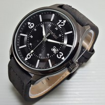 Jam Tangan Pria / Cowok Timberland Watch Leather Black