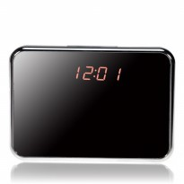 V7 Digital Alarm Clock Spy Hidden Camera with Motion Detection & Long