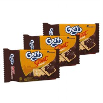 Gery Malkist Saluut Coklat Family Pack - 1 Paket isi 3pack (MALS2) by Garudafood