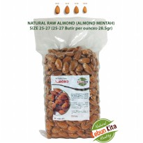Kacang Almond 500gr Tanpa Kulit (Natural Raw Almonds)