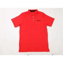 T-shirt tee kaos Mitre Polo Cotton Classic Orange Black original murah