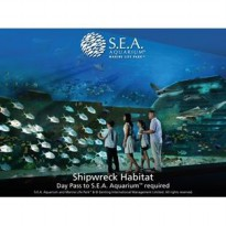 Tiket SEA Aquarium USS Singapore Child