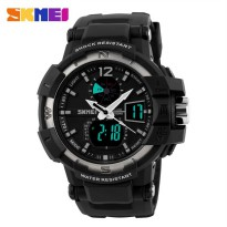 [esiafone happy sale] SKMEI Military Dual Time Sport Watch AD1040 - Jam Tangan Pria AD 1040 Original
