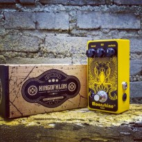 L.I.M.I.T.E.D Pedal Efek Gitar Stompbox Analog Moonshine Fuzz Distortion