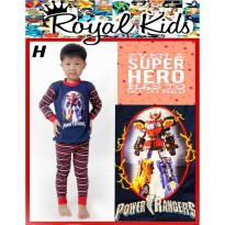Royal Kids piyama karakter