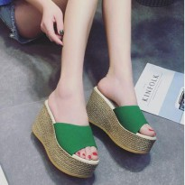 SHW18 Wedges Import Cantik 9cm