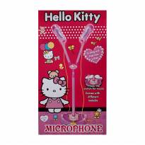Kitty Duo Microphone with standing - singing like a star