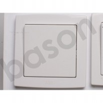 ABB AC101 CONCEPT 1 Gang 1 Way Switch 10AX | Saklar