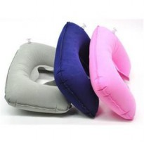 BANTAL LEHER ANGIN TIUP SET / TRAVEL PILLOW INFLATABLE