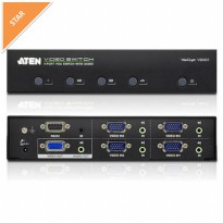 ATEN 4 PORT VGA SWITCH WITH AUDIO VS0401