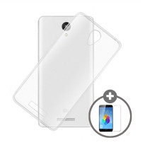 Case for Xiaomi Mi5 - Clear + Gratis Tempered Glass - Ultra Thin Soft Case