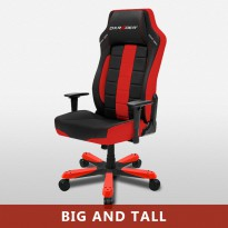 Gaming Office Chairs DXRacer BOSS SERIES OH/BE120/NR BLACK RED
