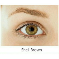 Softlens Gel SHELL BROWN/ Soft Lens Gel DUBAI dia 14.5.mm air 55% KORE