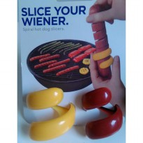 Slices Hot dog slicer ( Alat Pemotong Spiral Sosis )