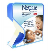 Micropore 1 inch 3M Nexcare Plester Kertas